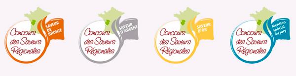 Récompenses du Concours des Saveurs Régionales