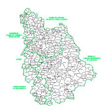 carte des zonages agricole