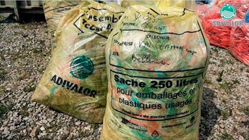 Collecte des emballages vides de produits phytosanitaires