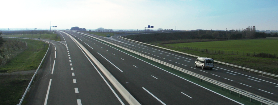 illustration autoroute