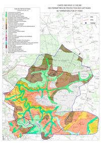exemple de carte d'étude des sols